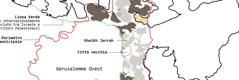 Gerusalemme, lo spazio del conflitto