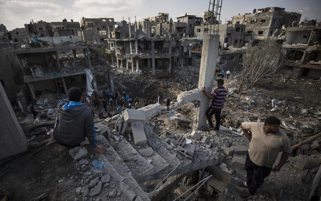 The urbicide of the Gaza Strip